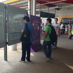 Photo taken at Jurong East Temporary Bus Interchange by Josette H. on 5/3/2013