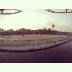 Photo taken at Sabarmati River Front by Rahul S. on 1/28/2014