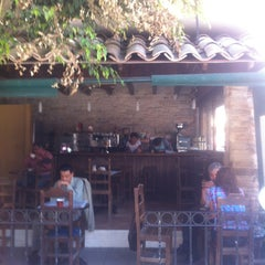 Photo taken at La Covacha Barra de Café by Isaali T. on 2/5/2013