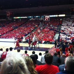 Photo taken at McKale Center by Angela A. on 2/7/2013