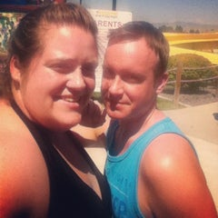 Photo taken at Roaring Springs Water Park by Steven O. on 7/10/2013