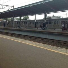 Photo taken at Stasiun Depok Lama by Petrus H. on 10/8/2015