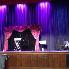 Photo taken at Columbia High School Auditorium by Tom S. on 10/25/2014