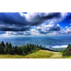 Photo taken at Sommet du Mont-Tremblant Summit by Max M. on 8/15/2015