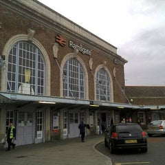 Photo taken at Ramsgate Railway Station (RAM) by Steve C. on 5/17/2013