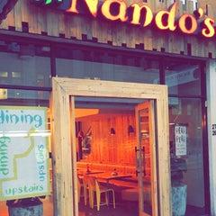 Photo taken at Nando's by Ibrahim B. on 2/8/2015