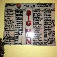 Photo taken at Big Man's Bar by Nicholas J. on 3/20/2013