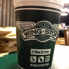 Photo taken at Wingstop by Very on 10/2/2012