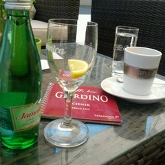 Photo taken at Caffe bar Giardino by Eleonora Đ. on 5/18/2013