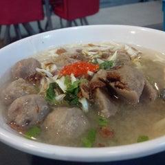 Photo taken at Lesung Batu Cafe by John F S. on 11/18/2013