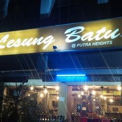 Photo taken at Lesung Batu Cafe by John F S. on 6/17/2015