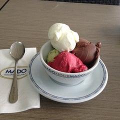 Photo taken at Mado by Mustafa ö. on 4/5/2013