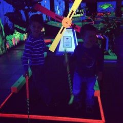 Photo taken at GLOWGOLF by Stephen H. on 4/8/2013