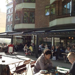 Photo taken at Den Franske Café by Ruben D. on 5/16/2013