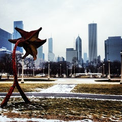 Photo taken at Grant Park by Michael M. on 1/27/2013