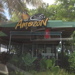 Photo taken at Café Amazon (คาเฟ่ อเมซอน) by thummanoon k. on 5/6/2013