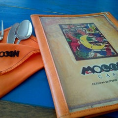 Photo taken at Mooon Cafe by Daryll S. on 6/16/2013