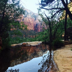 Photo taken at Emerald Pool Trail by Robin D. on 7/1/2015