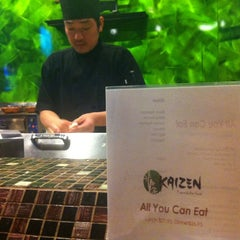 Photo taken at Kaizen Fusion Roll & Sushi by Kerry D. on 10/12/2013