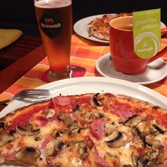 Photo taken at Pizzerie Red Flower by Alesya on 7/26/2014