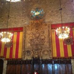 Photo taken at Ajuntament de Barcelona by Serrallonga on 4/23/2013