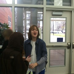 Photo taken at Ocean Lakes High School by Greg M. on 2/23/2013