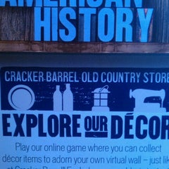 Photo taken at Cracker Barrel Old Country Store by Elie C. on 2/20/2013
