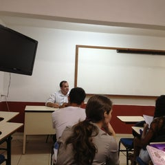 Photo taken at Faculdade Pio XII by Marcos T. on 2/22/2013