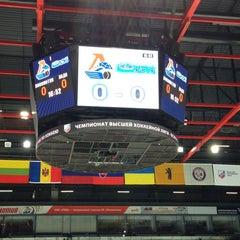 Photo taken at Арена 2000 Локомотив / Arena 2000 Lokomotiv by Vikki T. on 2/23/2013