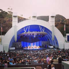 Photo taken at The Hollywood Bowl by Erin G. on 8/5/2013