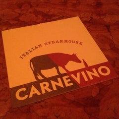 Photo taken at Carnevino by Jonathan F. on 2/16/2013