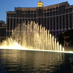 Photo taken at Fountains of Bellagio by Haidz M. on 6/13/2013