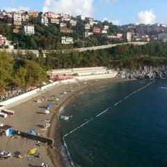 Photo taken at Kapuz Plajı by Ufuk E. on 8/1/2013