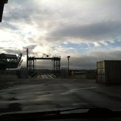 Photo taken at Bremerton Ferry Terminal by Samantha C. on 2/25/2013