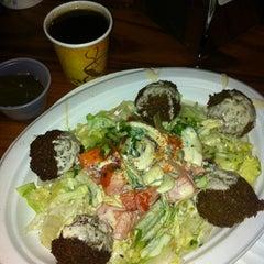 Photo taken at Mamoun's Falafel Restaurant by Bill B. on 7/13/2013