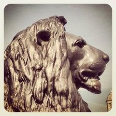 Photo taken at Trafalgar Square by Nathalie R. on 7/16/2013