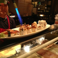 Photo taken at Rise Sushi Lounge by Amichi B. on 3/26/2013
