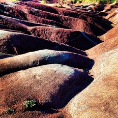Photo taken at Cheltenham Badlands by Jo F. on 9/10/2013