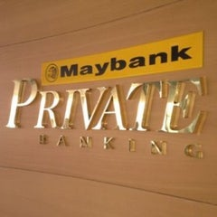 Photo taken at Maybank by Sharon F. on 2/20/2013