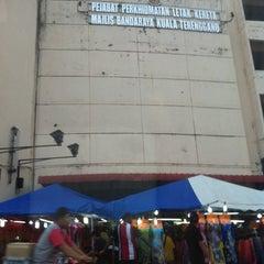 Photo taken at Dataran Shah Bandar Kuala Terengganu by Bukharie C. on 7/18/2014