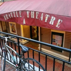 Photo taken at Brattle Theatre by smokin' j. on 4/22/2013
