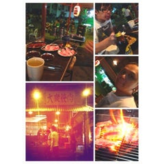 Photo taken at Gerai Makanan Japanese BBQ by vicz f. on 1/1/2013