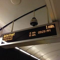 Photo taken at King Edward SkyTrain Station by Craig K. on 7/2/2013