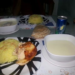 Photo taken at Umaiah Restaurant | مطاعم أمية by qais F. on 1/31/2014