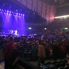 Photo taken at Allen County War Memorial Coliseum by Crystal B. on 3/26/2013