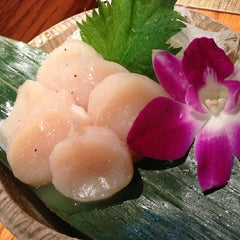 Photo taken at Kanpai Japanese Sushi Bar & Grill by Ann L. on 3/23/2013