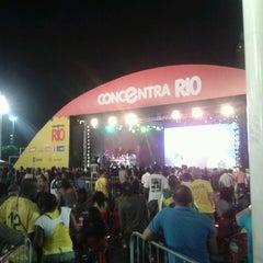Photo taken at Terreirão do Samba by Isadora R. on 6/19/2013