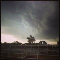 Photo taken at Wild West Arena by Muriel C. on 6/22/2013