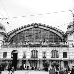 Photo taken at Basel SBB Railway Station (ZDH) by Eric M. on 6/1/2013