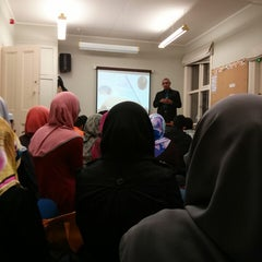 Photo taken at Student Islamic Centre by Alyaa A. on 4/1/2013